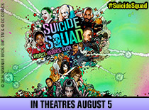 2 passes to the advanced screening of 'Suicide Squad'!