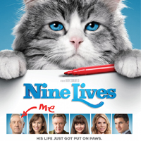 Family 4-Pack of passes to the advanced screening of 'Nine Lives'!