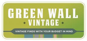 Green Wall Vintage